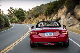 fiat roadster review 2017 fiat 124 spider the italian roadster is back bestride