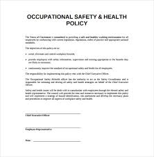 workplace safety plan template 28 images sle safety plan