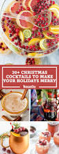 34 best christmas cocktail recipes easy alcoholic holiday drinks