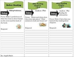 reading comprehension trifold thanksgiving on thursday magic tree