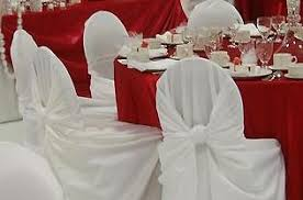 rosette chair covers chair covers tableclothsfactory