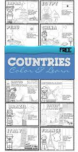 free 18 countries of the world book