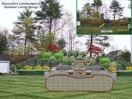 Landscape Design Ideas For Small Backyard by Triyae Com U003d Landscaping Backyard With Slope Various Design