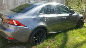lexus is200 sport wheel size mydippedwhips lexus is350 gf sport matte black wheels