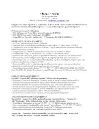 It Technician Resume Sample by Oneal Brown A U0026p And Avionics Technician Resume