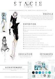 Fashion Industry Resume Fashion Cv Example And How It Was Created Http Stacieclark