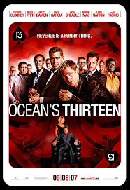 ocean twelve ocean u0027s 13 bad movie posters pinterest movie films and