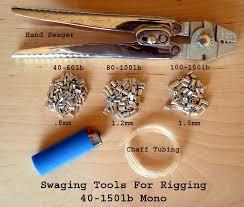 big game fish rigging supplies chaff tubing sleeves glass beads
