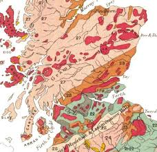 Geological Map Of Usa by Geology Of Scotland Wikipedia