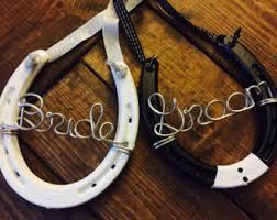 personalized horseshoe set horseshoe chair etsy