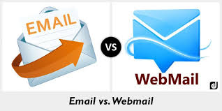 difference between email and webmail
