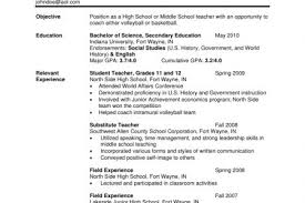 Esl Teacher Resume Samples by Sample Resume For High Graduate In The Philippines Final