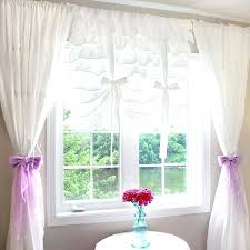 White Tie Curtains Balloon Tie Up Curtains Princess White Tie Up Balloon Curtain How