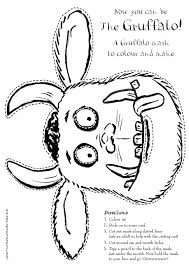 gruffalo coloring pages getcoloringpages