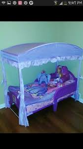 Sofia Bedding Set Sofia The Toddler Bed From Walmart And Canopy Also From
