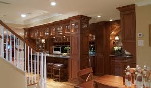bar amazing home basement bar design with natural stone wall