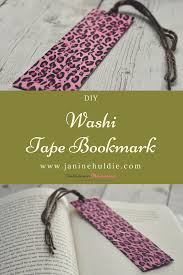 washi tape diy washi tape bookmark for book lovers confessions of a mommyaholic