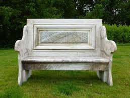 antique marble garden seat reclaimed benches ebay