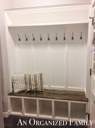 how to make entryway bench nissa lynn interiors how to build a mudroom bench by amanda