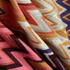 missoni home margot throw 156 in a vibrant color palette stardust