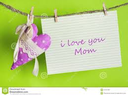 i love you mom happy mother u0027s day stock photo image 54161177