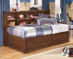 Aerobed Premier With Headboard by Twin Bed With Bookcase Headboard And Storage U2013 Clandestin Info