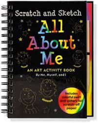 all about me scratch u0026 sketch kids activity books scratch