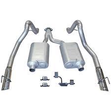 99 04 mustang exhaust flowmaster mustang ii catback exhaust 99 04 v6 3 8 17275