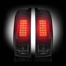 ford f350 third brake light bulb recon smoked projector headlights smoked led tail lights smoked