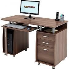 Lockable Desk Computer Desk With Storage U0026 A4 Filing Drawer Home Office Piranha