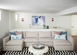Gray Sofa Decor Sapphire Blue Velvet Sofa With Chaise Lounge And Black And White