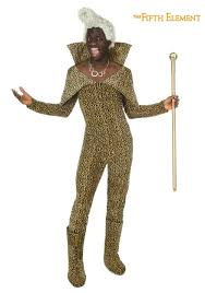 Wilfred Costume 5th Element Ruby Rhod Costume W Wig
