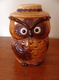 owl kitchen canisters owl canisters for the kitchen or vintage owl cookie jar 31 owl