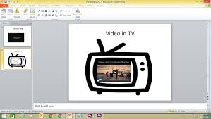 insert a youtube video into a powerpoint 2010 presentation