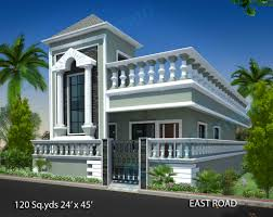 floor plans and elevations of houses way2nirman 120 sq yds 24x45 sq ft east face house 1bhk floor plan