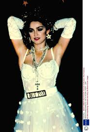 wedding dress song madonna career in pictures