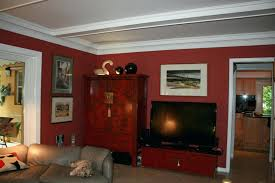 1popular house colors with red brick interior paint that