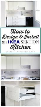 kitchen cabinets blog how to design and install ikea sektion kitchen cabinets just a