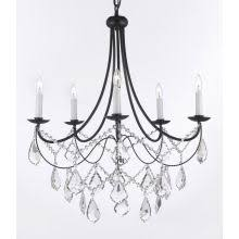 Plug In Crystal Chandelier Crystal Chandeliers From Lightingdirect