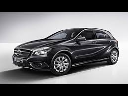 mercedes a class black mercedes black colored a class diesel launched in india