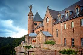 cathedral in alsace france wallpapers and images wallpapers
