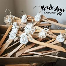 personalized wedding hangers personalized bridal hanger barb designs