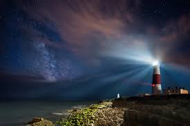 light house at night lighthouse life central