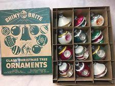 vintage shiny brite ornament ebay