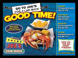 joes crab shack join the happy hour at joe s crab shack in san diego ca 92108