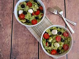 Creamy Pasta Salad Recipes Pesto Mozzarella Pasta Salad Pumpkin U0027n Spice