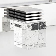 Led Bathroom Vanity Lights Bathroom Vanity Light With Crystal Cube Led Wall Light Cabinet
