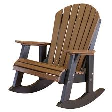 Recycled Adirondack Chairs Little Cottage Heritage High Fan Back Rocker Little Cottage