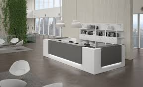 Reception Desk White by Modern Contemporary Office Furniture Los Angeles Muebles Oficina