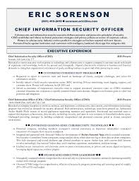 Security Resume Sample by Ciso Resume Resume Cv Cover Letter